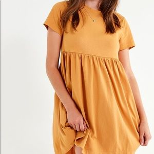 Urban Outfitters Yellow Babydoll Dress
